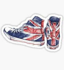 Union Jack Converse | Shoes Sticker