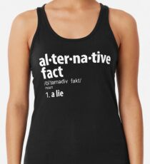 Alternative Tatsachen Definition Racerback Tank Top