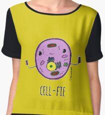 Cell-fie Women's Chiffon Top