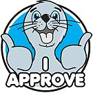 I Approve Seal by DetourShirts