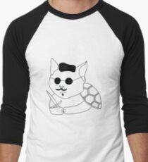 Cat-turtle Men's Baseball ¾ T-Shirt