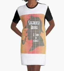 A Study In Scarlet Graphic T-Shirt Dress
