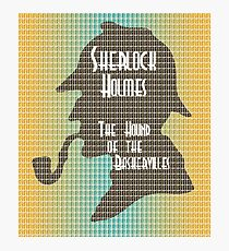 The Hound of the Baskervilles Photographic Print