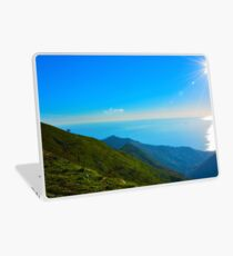 Panorama from Monte Fasce Laptop Skin