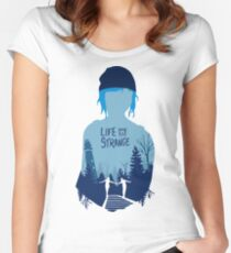 LIFE IS STRANGE - CHLOE Women's Fitted Scoop T-Shirt