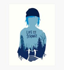 LIFE IS STRANGE - CHLOE Art Print