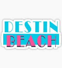 Destin Beach Florida Vice Sticker