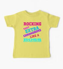 Girls Down Syndrome Gifts Down Syndrome awareness Cool stuff Baby Tee