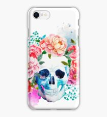 Colour flower skull | Globetrotter iPhone Case/Skin