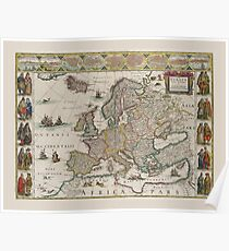 Europe 1644 Poster