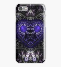 Blue steampunk iPhone Case/Skin