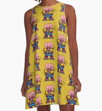 Pig And Chicks A-Line Dress