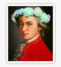 Mozart Sticker