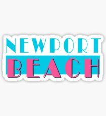 Newport Beach California Vice Sticker
