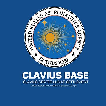 Clavius Base : Inspired by 2001 : A Space Odyssey by WonkyRobot