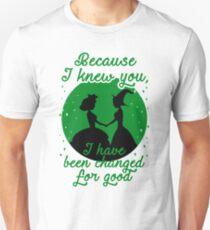 Camiseta ajustada Porque te conoci