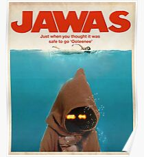 Jawas : Inspired by Star Wars & Jaws Poster