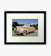 1940 LaSalle 5027 Classic Coupe 1 Framed Print