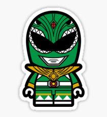 Green Power Chibi Ranger Sticker