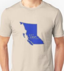 Get Lost in British Columbia T-Shirt