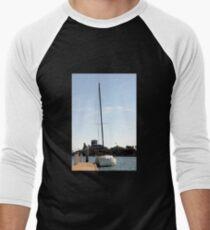 Sailboat Men's Baseball ¾ T-Shirt