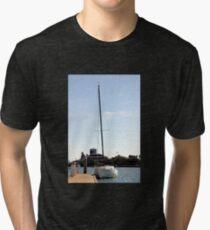 Sailboat Tri-blend T-Shirt