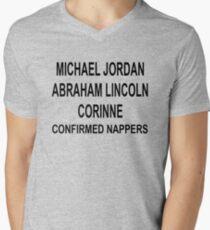 Corinne The Nap Queen - The Bachelor Men's V-Neck T-Shirt