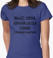 Corinne The Nap Queen - The Bachelor Womens Fitted T-Shirt