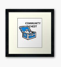 Community Chest Framed Print
