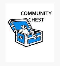 Community Chest Photographic Print