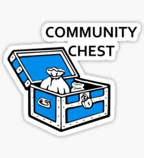 Community Chest Sticker