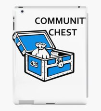 Community Chest iPad Case/Skin