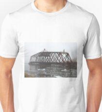 Turn Style Bridge in Fog T-Shirt
