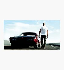 fast 8 Photographic Print