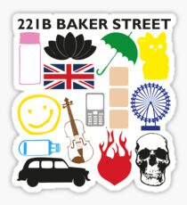 FAVOURITE SHERLOCK MOMENTS Sticker