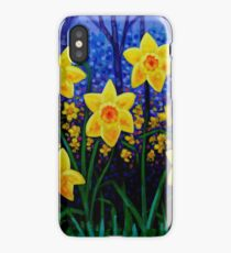 Daffodil Cluster iPhone Case