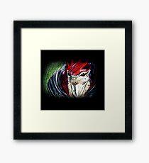 Urdnot Wrex - Mass Effect Framed Print