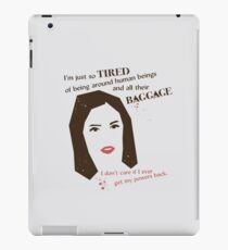 Baggage iPad Case/Skin