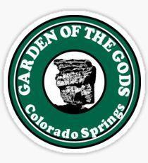 COLORADO SPRINGS COLORADO BALANCED ROCK GARDEN OF THE GODS Sticker