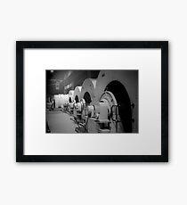 Turbines Framed Print