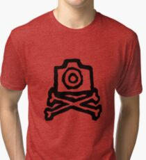 Camera and crossbones Tri-blend T-Shirt