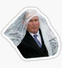 George Bush Poncho Sticker