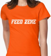 Feed Zeke Womens Fitted T-Shirt