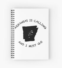 Arkansas is calling... Spiral Notebook