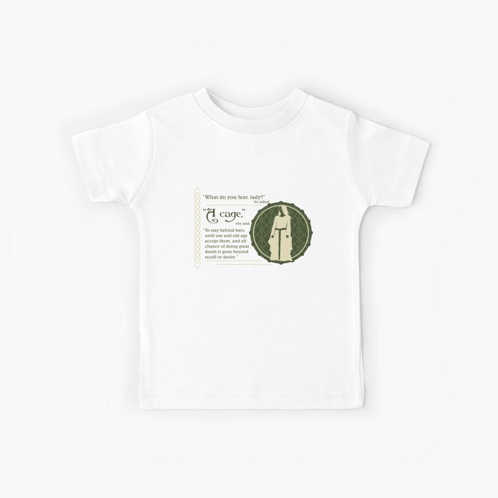 Ein Käfig Kinder T-Shirt