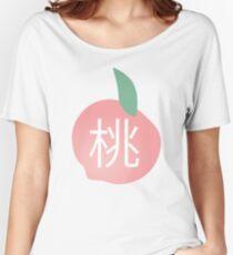 Peach (Japanese) Women's Relaxed Fit T-Shirt