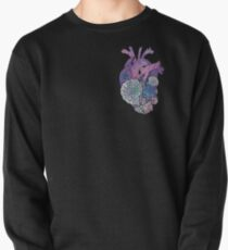 ' Mermaids Heart ' Ocean Inspired Illustration Pullover
