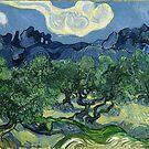 Die Olivenbäume von Van Gogh von GalleryGreats