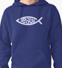 Jesus fish Pullover Hoodie