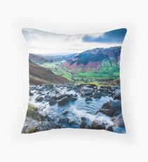 Stickle Tarn Throw Pillow